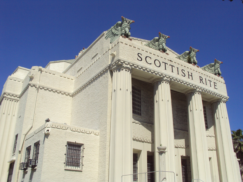 Templo del Rito Escocés (Scottish Rite) en Miami, FL